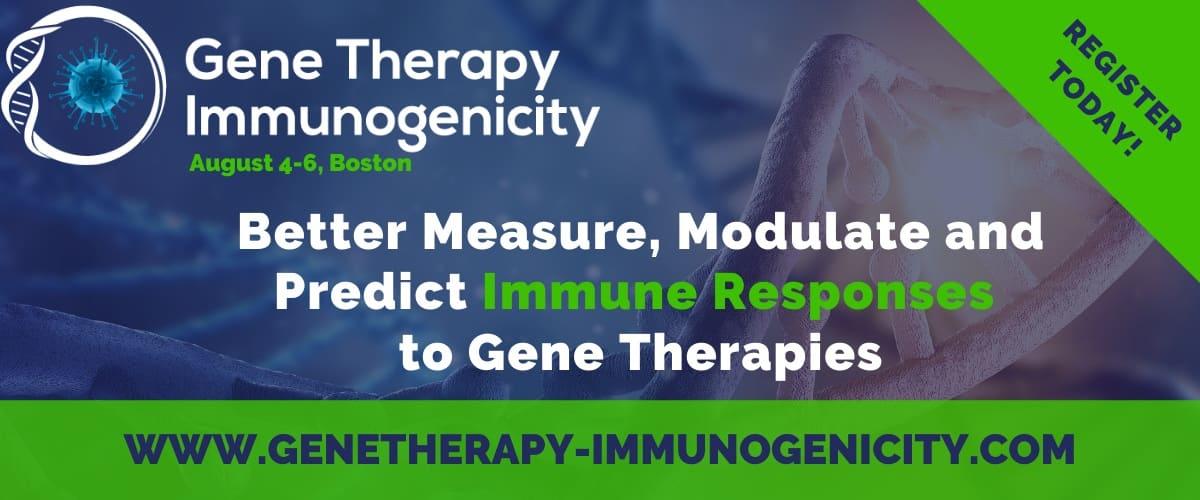 Gene Therapy Immunogenicity Summit 2020
