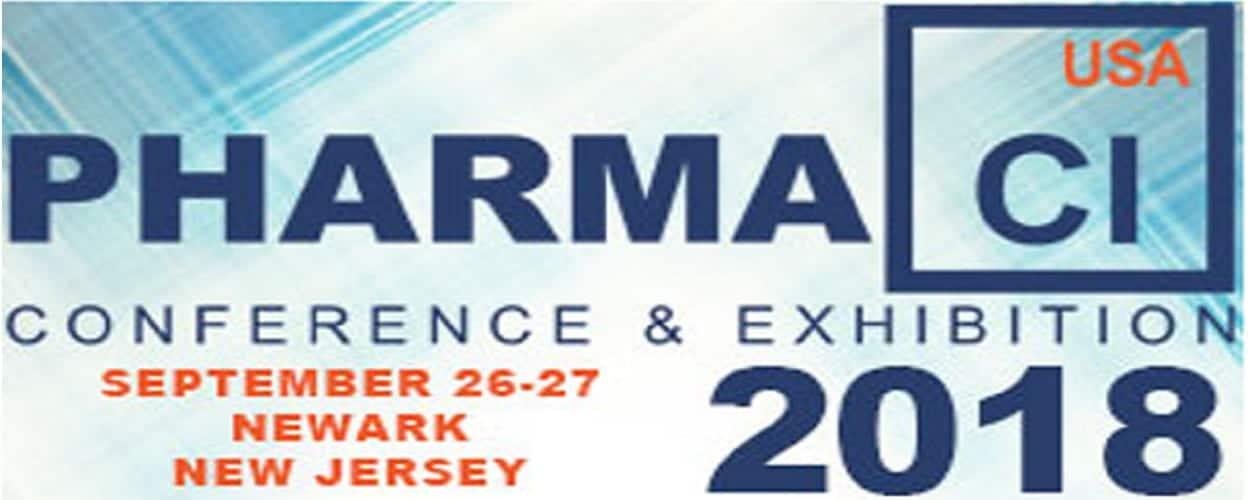 2018 Pharma CI USA Conference & Exhibition