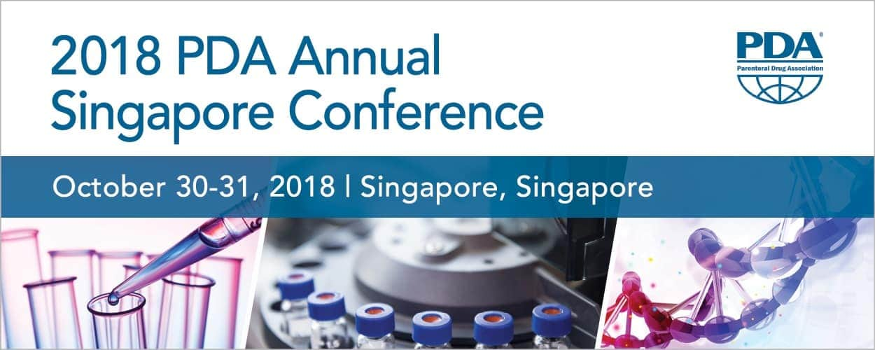 2018 PDA Annual Singapore Conference