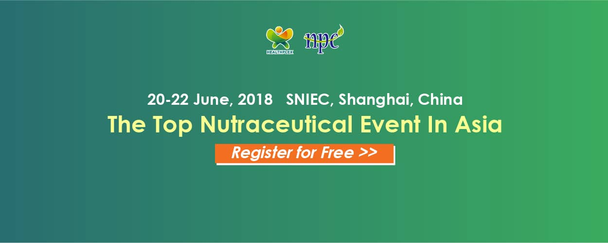 HNC-Healthplex Expo,Natural & Nutraceutical Products China 2018