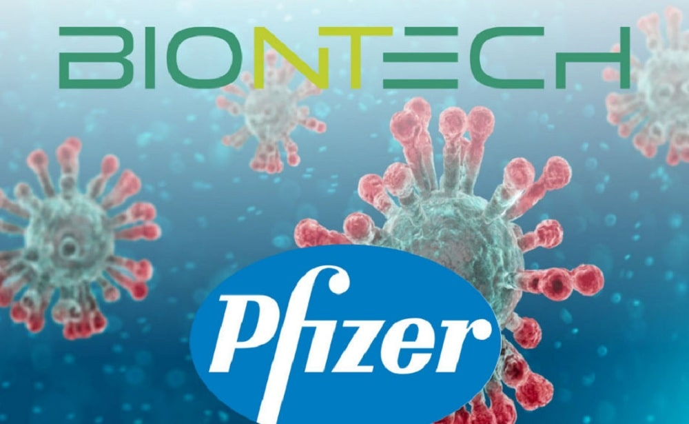 Pfizer And Biontech Share Positive Early Data On Lead Mrna Vaccine Candidate Bnt162b2 Against Covid 19