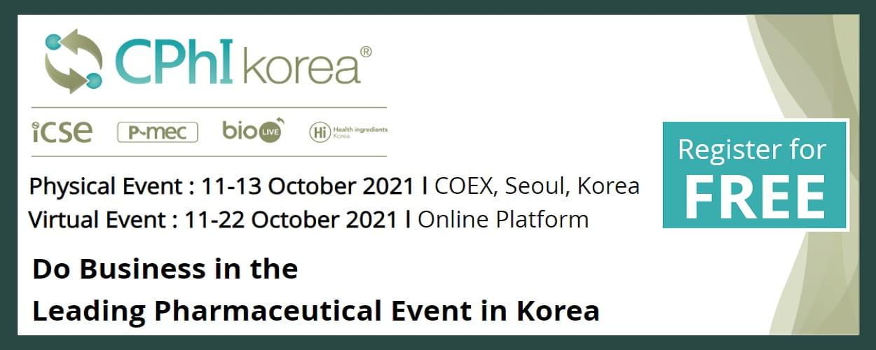 CPhI / ICSE / bioLIVE / P-MEC / HI Korea