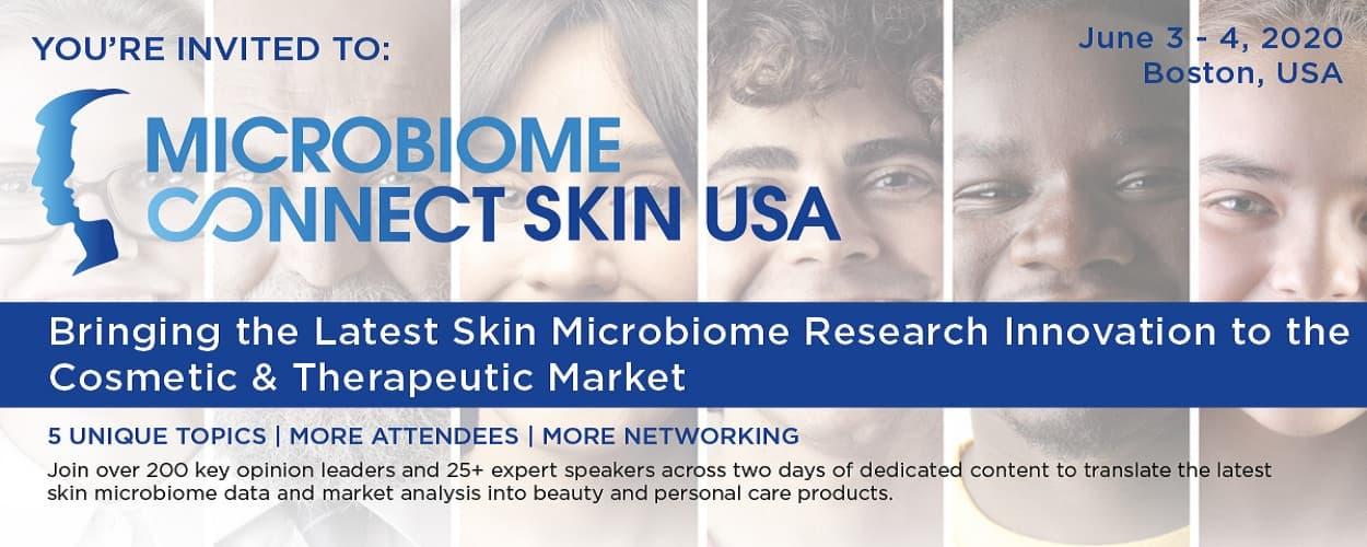 Microbiome Connect Skin USA 2020
