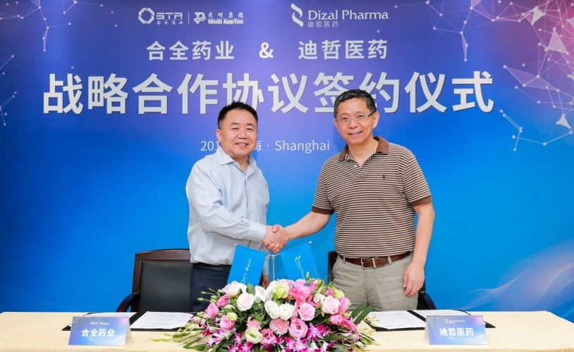 WuXi STA and Dizal Pharmaceutical Sign CMC Development and